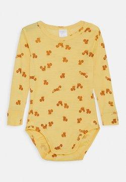Lindex - BABY WOOL PRINT UNISEX - Body - dusty yellow