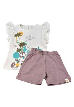 Cigit - SET - Shorts - white