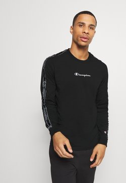 Champion - LEGACY TAPE LONG SLEEVE - Pitkähihainen paita - black