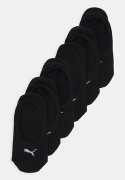 Puma - FOOTIE 6 PACK UNISEX - Füßlinge - black