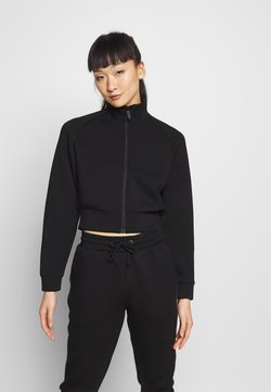 Guess - JACKET ZIP - veste en sweat zippée - jet black