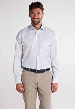 Eterna - COMFORT FIT - Businesshemd - hellblau/khaki