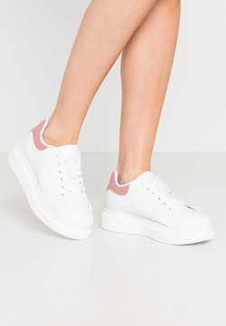 Nly by Nelly - PERFECT - Sneakers laag - white/pink