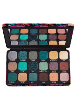 Make up Revolution - EYESHADOW PALETTE FOREVER FLAWLESS CHILLED WITH CANNABIS SATIVA - Palette fard à paupière - multi