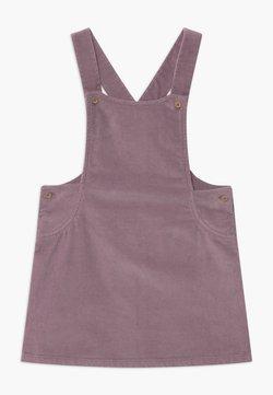 Benetton - DUNGAREE - Korte jurk - purple