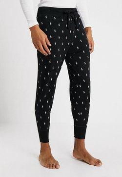 Polo Ralph Lauren - PRINTED LIQUID  - Bas de pyjama - black/nevis