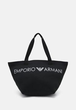 Emporio Armani - SHOPPING BAG BEACH - Beach accessory - nero