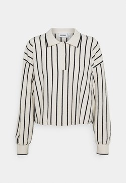 Weekday - HELGA - Langarmshirt - white/ black stripe