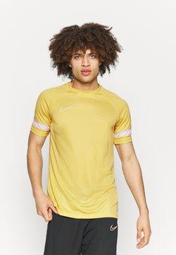 Nike Performance - T-Shirt print - saturn gold/white
