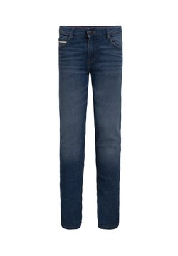 WE Fashion - MET TAPEDETAIL - Slim fit jeans - blue
