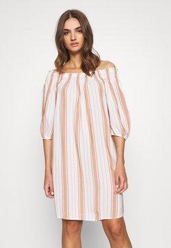 Superdry - DESERT OFF SHOULDER DRESS - Sukienka letnia - orange