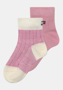 Tommy Hilfiger - SEASONAL BIRDEYE 2 PACK UNISEX - Calcetines - pink