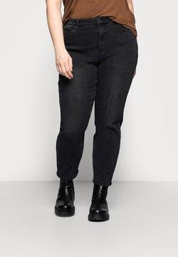 Vero Moda Curve - VMJOANA MOM - Relaxed fit -farkut - black