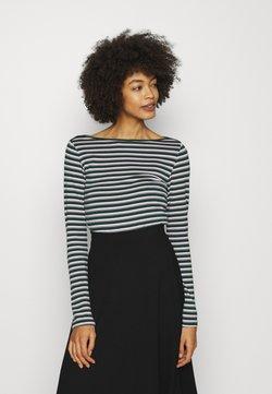 GAP - BATEAU - Langarmshirt - green stripe