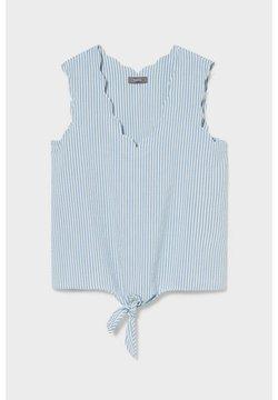 C&A - Bluse - blue / white