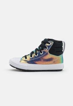 Converse - CHUCK TAYLOR ALL STAR BERKSHIRE GLITTER  - Zapatillas altas - black/rainbow/white