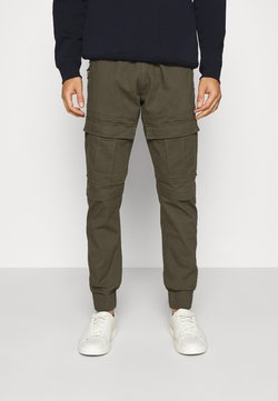 INDICODE JEANS - SUTTON - Cargo trousers - army