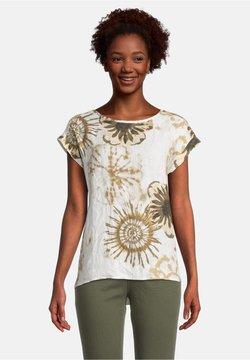 Cartoon - T-Shirt print - white/camel