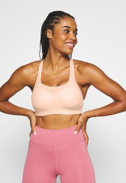 Nike Performance - ALPHA BRA NOVELTY - Sport BH - washed coral/white