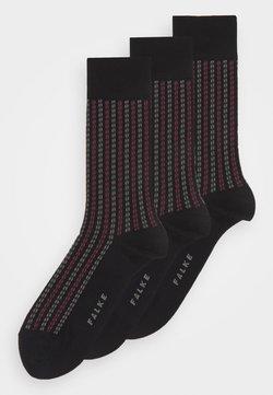 FALKE - PIN STRIPE - Socken - black