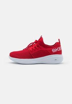 Skechers Performance - GO RUN FAST VALOR - Zapatillas de running neutras - red