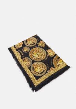 Versace - MEDUSA SHAWL - Chusta - black/gold