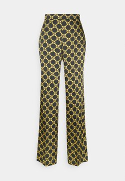 TWINSET - Trousers - nero/oro