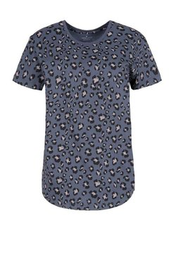 Cross Jeans - T-shirt z nadrukiem - szary