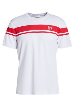 sergio tacchini - YOUNG LINE PRO T-SHIRT - T-Shirt print - red/white