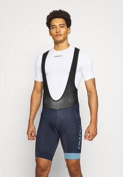 Craft - CORE ENDUR BIB SHORTS - Tights - blaze/atmos