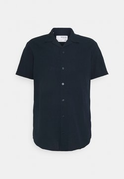 Selected Homme - SLHREGNEW SHIRT RESORT - Vapaa-ajan kauluspaita - navy blazer
