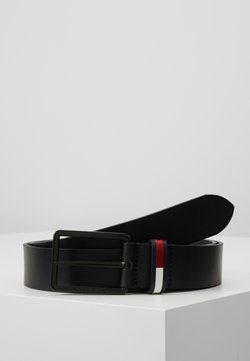 Tommy Jeans - FLAG INLAY - Vyö - black