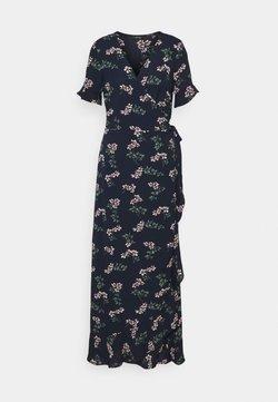 Vero Moda Tall - VMSAGA WRAP FRILL ANKLE DRESS  - Maxikjole - navy blazer