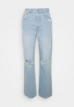 Boyish - THE ZIGGY HIGH RISE RELAXED - Jeansy Relaxed Fit - light blue