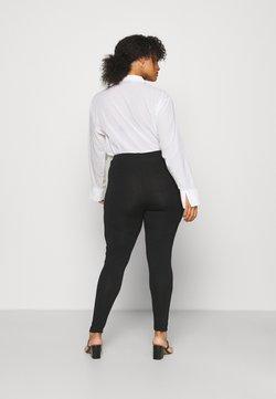 Even&Odd Curvy - 2 PACK - Leggings - Trousers - black/white