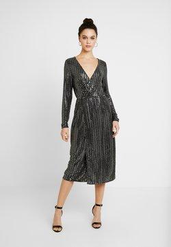 Object - Cocktailkleid/festliches Kleid - black/silver sequince