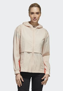 adidas Performance - Windbreaker - beige