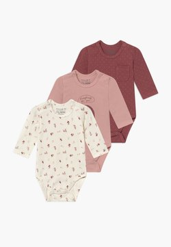 Hust & Claire - BASE BABY 3 PACK - Body - dusty rose