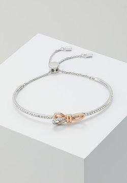 Swarovski - LIFELONG BOW BANGLE - Bracelet - rosegold-coloured/silver-coloured