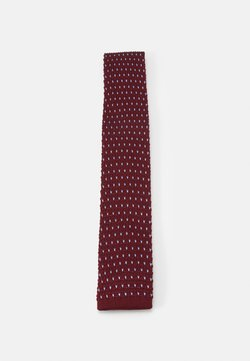 Shelby & Sons - GILES TIE - Krawatte - bordeaux/blue
