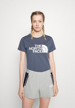 The North Face - EASY TEE - T-shirt med print - vintage indigo