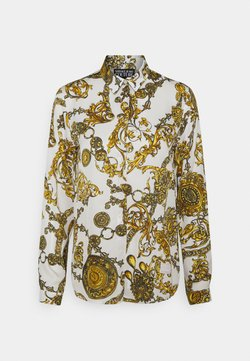 Versace Jeans Couture - SHIRT - Bluse - white/gold