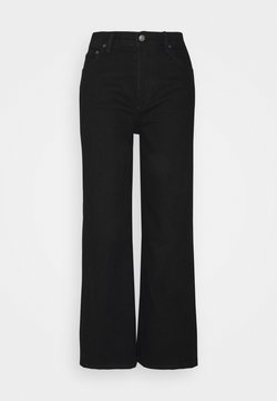 Boyish - THE MIKEY HIGH RISE WIDE LEG - Relaxed fit jeans - black beauty