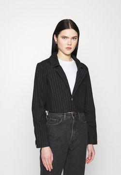 Weekday - VERDIN JACKET - Veste en jean - black