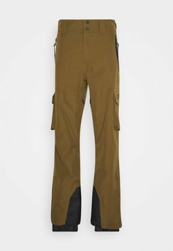 Superdry - ULTIMATE SNOW RESCUE PANT - Täckbyxor - dusty olive