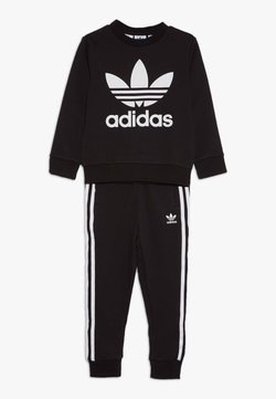 adidas Originals - CREW SET - Survêtement - black