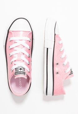 Converse - CHUCK TAYLOR ALL STAR COATED GLITTER  - Trainers - cherry blossom/black/white