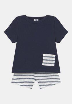 Petit Bateau - ENSEMBLE SET - T-Shirt print - white/dark blue