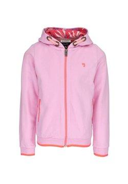 J&JOY - veste en sweat zippée - pink