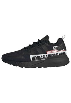 adidas Originals - ZX 2K BOOST SHOES - Sneaker low - black